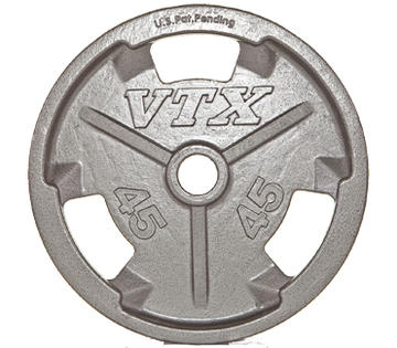 Troy Barbell VTX Olympic Grip Plates